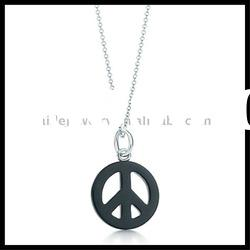 fashion charm necklace silver jewelry whoelsale jewellery