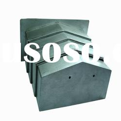 hebei liancheng steel plate telescopic spring cover for machine tools guide shield