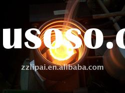 high frequency gold sliver melting furnace in crucible