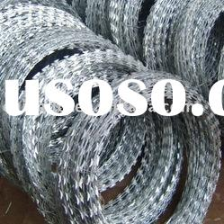 hot dipped galvanized barbed wire fence;barbed wire