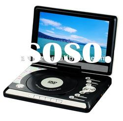 hot sale promotion 9'' DVD Player/Portable DVD Player within USB/SD Card fuction