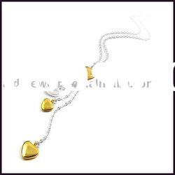 necklace jewelry, plating gold silver jewelry
