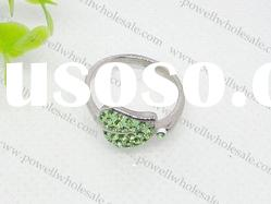 new style stainless steel stone rings