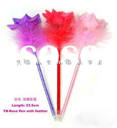 novelty flower pens for gift