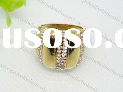 shining 316L Stainless Steel Ring