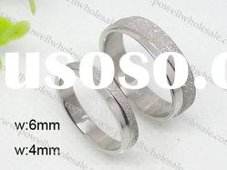 stainless steel couple jewelry rings,