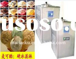 surpply the best hard ice cream machine that can make the colorful ice cream