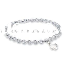 wholesale silver necklace fashion punk jewelry