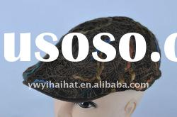winter brown fashion beret hat