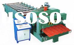 1035 arc glazed tile roll forming machinery