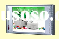 10 inch LCD advertising monitor, screen advertising, promotion display