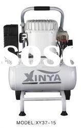 15L 8bar 1.0hp ac piston oil-less mute direct-driven air compressor(XY37-15)