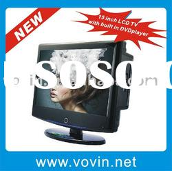 15nch LCD TV with built in DVD player