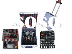 188pcs trolley hand tool set in aluminum case