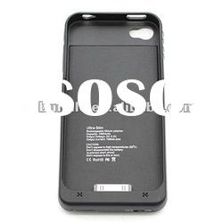 1900mah external battery charger case for iphone 4 4s