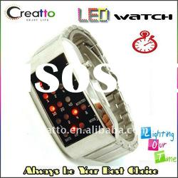 1970s STYLE Digital RETRO Red LED BINARY Watch