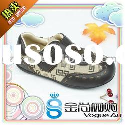 2011 Top Design Fashionable Brand Name Genuine Leather Boy Casual Shoes