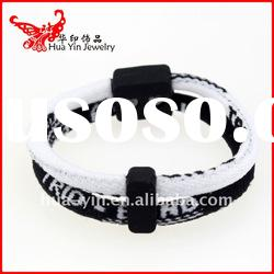 2012 Fashion magnetic silicone Bracelet