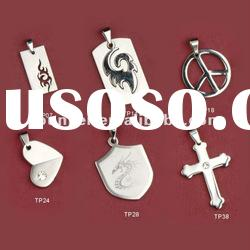 2012 Newest Styles Nickel Free 316L Stainless Steel Pendant For Men,Stainless Steel Charms