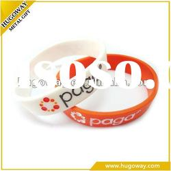 2012 cheap custom silicone bracelet for promotion