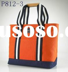 2012 fashion brand Canvas brand handbags