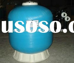 2012 hot selling Swimming pool fiberglass side-mount sand filter