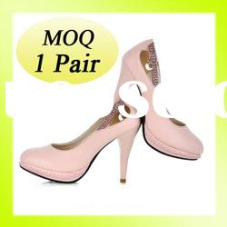 2012 latest design fashion big size women high heel big size women shoes wholesale