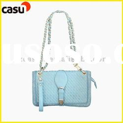 2012 summer spring handbags Simple shoulder handbags,pure Pu Leather hobo bags for women