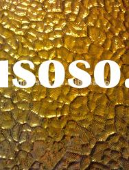 250*300mm gold pattern mirror crystal glass tile mosaic MU39--gorgeous decoration