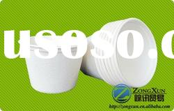 4oz biodegradable disposable paper bagasse cup for hot/cold drink