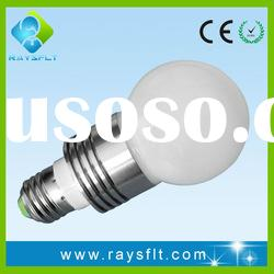 5W E27 color changing e27 led bulb