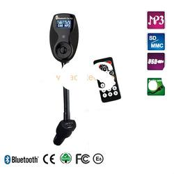 5 in 1 Bluetooth car kit+handsfree+FM transmitter+ USB charger