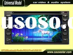 "6.2"" 2 din auto cd mp3 usb player"