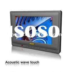 7 inch Surface Acoustic Wave Touch Screen LCD Monitor AV input