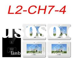 7 inch monitor video door phone for villa/house