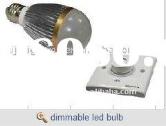 7x1W dimmable LED Bulb light