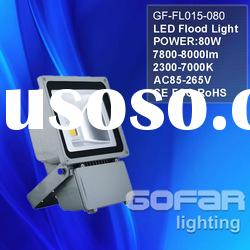 80w Warm White LED Flood light IP65