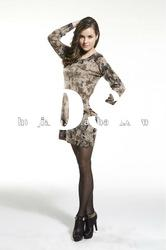 85% Cashmere sweater dress for women/2012 new