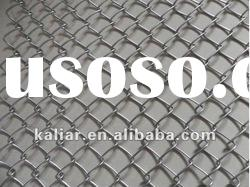 9 gauge chain link wire mesh fence (Factory)
