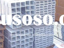 ASTM A500 galvanized steel square tube