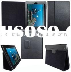 Auto Sleep PU Leather Case for iPad 2