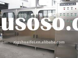 Automatic 5 gallon barreled water filling production line