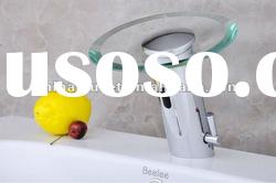 Automatic faucet sink basin mixer tap,Bathroom Solid Brass faucet QH0109A