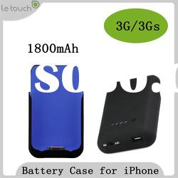 Backup Battery Case for iPhone 3G 3GS (WWI certificate is optional)