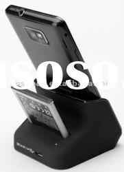 Battery charging slot Docking station for Samsung i9100 Galaxy S2 with battery charging slot