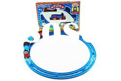 Battery operated plastic train tracks toy set BC768601-T