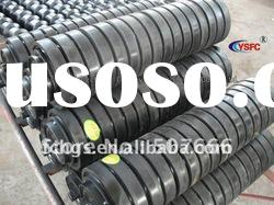 Belt Conveyor rubber impact rollers
