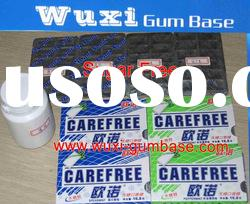 Blister packing xylitol chewing gum