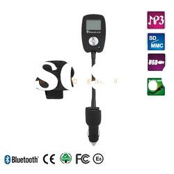 Bluetooth car mp3 player with FM transmitter and remote control