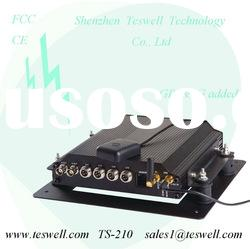 CE FCC approved mobile dvr with usb hdd gps